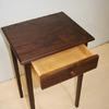 walnut end table